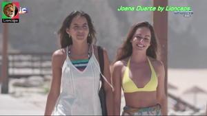 Joana Duarte sensual na novela Vidas Opostas