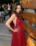Mila Kunis look gorgeous in red dress at 7th Annual Chrysalis Butterfly Ball in Los Angeles