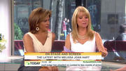 Kathie lee Gifford and Melissa Joan Hart short skirt - today show