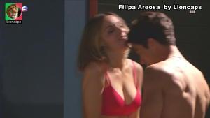 Filipa Areosa sensual na novela Nazare