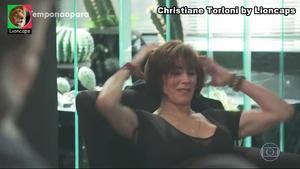 Christiane Torloni sensual na novela O tempo não pára