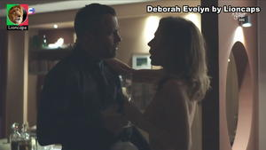 Deborah Evelyn sensual na novela Dona do Pedaço