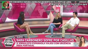 Marta Viveiros sensual no Flash Vidas