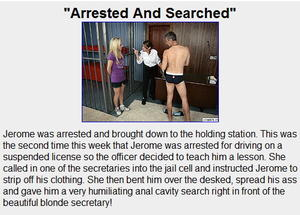 Guys Get Fucked: Arrested And Searched