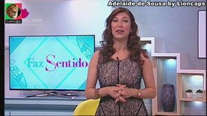 Adelaide de Sousa sensual em vários momentos