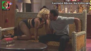 Luciana Abreu super sensual na novela Terra Brava