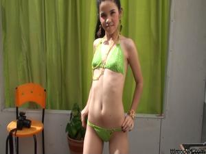TBF Video 082 Christina In Green Video