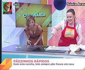Sónia Araujo sensual no Praça e em outros directos da Rtp