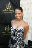 Christina Milian shows cleavage at Kari Feinstein MTV Movie Awards Style Lounge Day 1 in Los Angeles