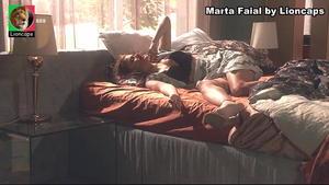 Marta Faial sensual na novela A Teia