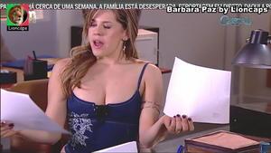 Barbara Paz sensual em vários trabalhos