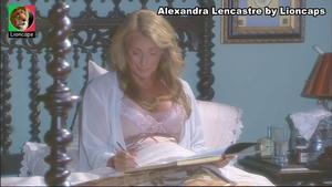 Alexandra Lencastre sensual na novela Anjo Meu e A Herdeira