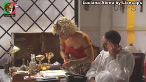 Luciana Abreu sensual na novela Terra Brava