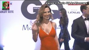 Ana Rita Clara sensual na festa GQ