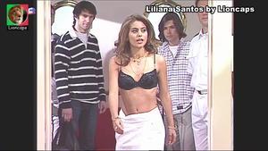 Liliana Santos sensual na serie Maré Alta