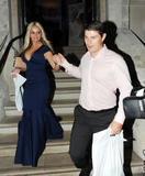 Дженнифер Эллисон, фото 904. Jennifer Ellison leaving the Ghost of Musical in London, july 19, foto 904